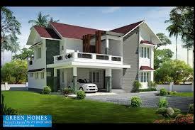 green homes beautiful sloping roof villa