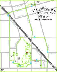 Seattle Marathon Map by Tinker Bell Half Marathon Event Guide U2014 Flowers Croon