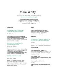 Resume With References Available Upon Request Resume U2014 Mara Welty