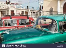 cienfuegos complimentary colors in taxis stock photos u0026 cienfuegos