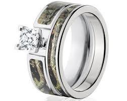 camo wedding rings camo wedding rings etsy