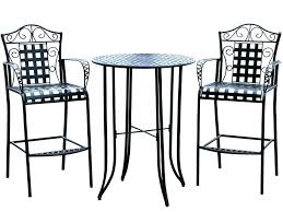 Patio Table Size Counter Height Bistro Set Outdoor Medium Size Of Patio Furniture