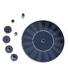 small battery powered water pump amazon com weanas outdoor mini solar powered floating fountain