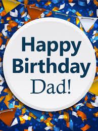 happy birthday card for dad birthday card simple printable