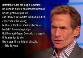 Kobe Rape Meme - skip bayless said kobe bryant s rape case gave him sizzle
