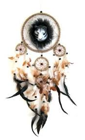 amazon com catcher feather dreamcatcher wolf catcher