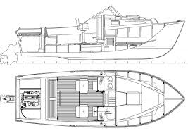 Boat Building Plans Free Download by 23 U0027 Wooden Shoe An I O Powered Sport Cruiser You Can Build
