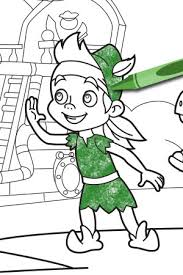 izzy jake land pirates coloring pages