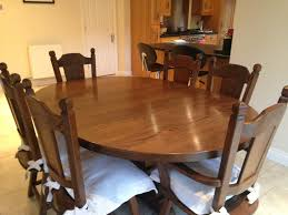 orba dark oak dining table 118cm 4 orba dark oak dining chairs