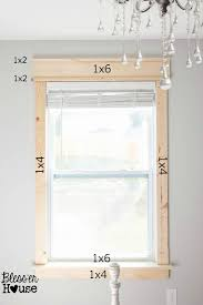 Modern Window Casing by Diy Window Trim The Easy Way