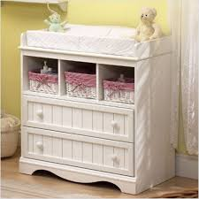 How To Make A Baby Changing Table Amazoncom South Shore Cotton Changing Table With Shop