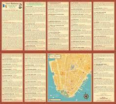 downtown manhattan map lower manhattan a history map ephemera press