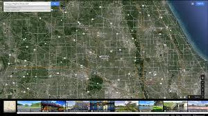 Chicago Botanic Garden Map by Arlington Heights Illinois Map