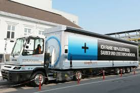 truck bmw is first to deploy an electric 40 ton truck on european roads