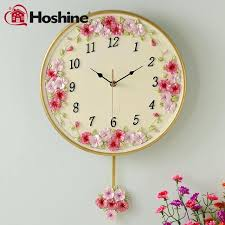 wall clock flower clock live wallpaper download flower clock