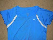 light blue nike shorts women s nike shorts dri fit light blue white run train panty size