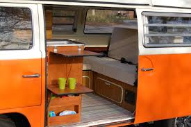 volkswagen westfalia camper interior peaches inside retrocampervan