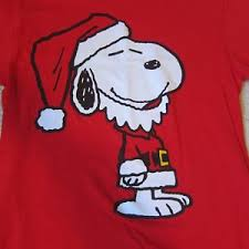 peanuts christmas t shirt peanuts christmas t shirt size small sleeve w