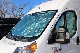 Camper Van Blinds Our Promaster Camper Van Conversion Curtains For Windows Build