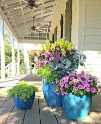 Potted Plant Ideas For Patio by Best 20 Large Outdoor Planters Ideas On Pinterest U2014no Signup