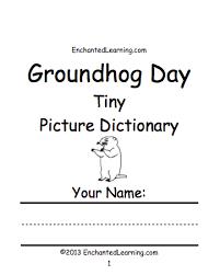books print groundhog crafts worksheets printable