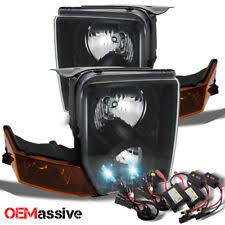 jeep commander black headlights headlights for jeep commander ebay