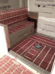 Heated Bathroom Rug Heated Floor Cost Per Sq Ft Mats Rugs In Basement Bathroom