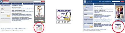 Trusted Site Seal kaufen Sichere Online Verbindungen  Thawte