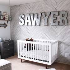 Decorating Nursery Walls This Herringbone White Washed Pallet Wall Has Us All Eyed