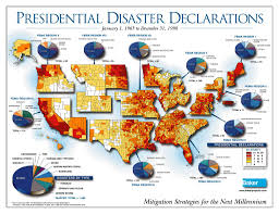 Fema Map The Us Has More Natural Disasters Than Any Other Country In The