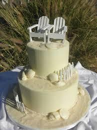 sweet t u0027s cake design beach 2 tier wedding cake
