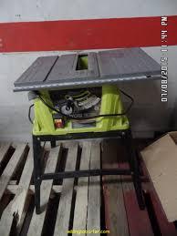 ryobi rts10g 10 in 15 amp table saw ebay