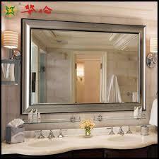 bathroom cabinets bronze mirror frameless mirror long bathroom