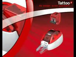 tattoo id card printer printer id card evolis tattoo 2 vegasindo card plus youtube