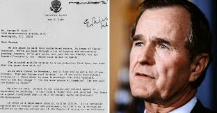 during his 1988 campaign george h w bush warned his son about