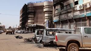 siege cars burkina faso hotel attack