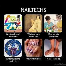 Nail Tech Meme - nail tech phoenix beauty lounge