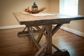ana white dining room table likable ana white farmhouse x table diy projects ana white dining