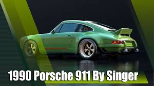 singer porsche williams engine 1990 porsche 911 restored by singer vehicle design youtube