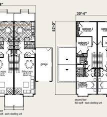 Multi Unit Floor Plans Multi Family House Plans Affordable Multifamily House Plans U