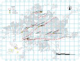 Michoacan Map A Gpr Study Of Subsidence Creep Fault Processes In Morelia