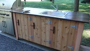 outdoor kitchen cabinet doors diy how to build an outdoor kitchen cabinet longview