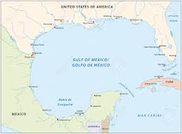 Mexico Map by Gulf Of Mexico Map Royalty Free Cliparts Vectors And Stock