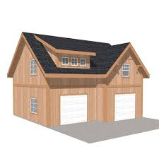 44 ft x 40 ft x 18 ft wood garage kit without floor project