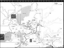 Spokane Washington Map Mount Spokane State Park Spokane County Highpoint