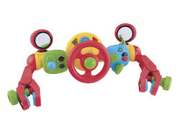 baby toys with lights and sound elc lights sounds buggy driver baby bunting