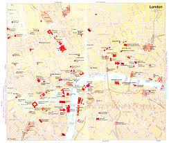 London Maps London Maps Amazing London Map Tourist Attractions Printable