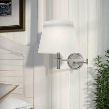 beachcrest home aquila swing arm lamp u0026 reviews wayfair