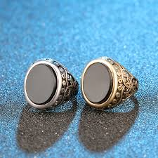 aliexpress buy real brand italina rings for men hot aliexpress buy kinel brand classic black resin men ring for