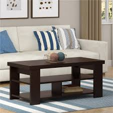 Ameriwood Bedroom Furniture by Ameriwood Furniture Hollow Core Contemporary Coffee Table Black